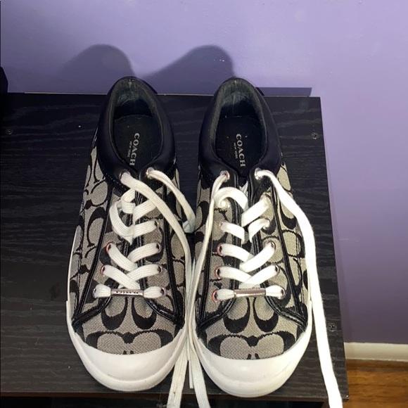 Coach Shoes - Coach canvas sneakers